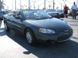 2002 Onyx Green Pearl Chrysler Sebring LX Convertible #39740890