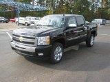 2011 Black Chevrolet Silverado 1500 LT Crew Cab #39739936