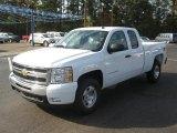 2011 Summit White Chevrolet Silverado 1500 LT Extended Cab 4x4 #39739937