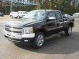 2011 Black Chevrolet Silverado 1500 LT Extended Cab #39739938