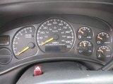 2001 Chevrolet Silverado 1500 LS Extended Cab Gauges