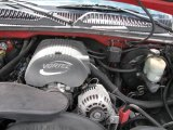 2001 Chevrolet Silverado 1500 LS Extended Cab 5.3 Liter OHV 16-Valve Vortec V8 Engine