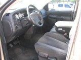 2002 Dodge Ram 1500 SLT Quad Cab Dark Slate Gray Interior