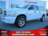 2007 Bright White Dodge Ram 1500 Sport Quad Cab #39739362