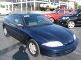 2002 Indigo Blue Metallic Chevrolet Cavalier Coupe #39740915