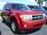 2009 Sangria Red Metallic Ford Escape XLT #392469