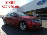 2011 Red Candy Metallic Ford Fusion Sport #39739371