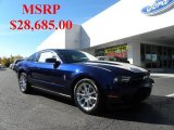 2011 Kona Blue Metallic Ford Mustang V6 Premium Coupe #39739375