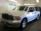 2009 Bright Silver Metallic Dodge Ram 1500 ST Quad Cab #39740004