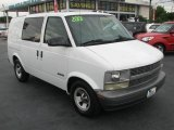 2001 Ivory White Chevrolet Astro Commercial Van #39740932