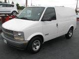 2001 Chevrolet Astro Commercial Van Front 3/4 View