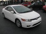 2007 Taffeta White Honda Civic LX Coupe #39740934