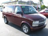 2004 Dark Carmine Red Metallic Chevrolet Astro LT AWD Passenger Van #39740972