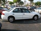 2003 Olympic White Chevrolet Cavalier Sedan #39740981