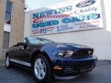 2011 Kona Blue Metallic Ford Mustang V6 Convertible #39741114