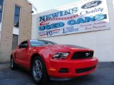 2011 Race Red Ford Mustang V6 Premium Coupe #39741116