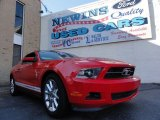 2011 Race Red Ford Mustang V6 Coupe #39741121