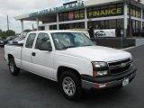 2006 Summit White Chevrolet Silverado 1500 Extended Cab #39740551