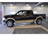 2011 Rugged Brown Pearl Dodge Ram 1500 Laramie Crew Cab #39739465