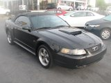 2002 Black Ford Mustang GT Convertible #39740558