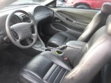 2002 Ford Mustang GT Convertible Dark Charcoal Interior