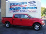 2010 Vermillion Red Ford F150 XLT SuperCrew 4x4 #39741146