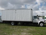 2003 Oxford White Ford F650 Super Duty XL Regular Cab Commerical Moving Truck #39740586