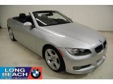 2007 Titanium Silver Metallic BMW 3 Series 335i Convertible #39739490
