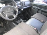 2002 Dodge Ram 1500 ST Regular Cab Dark Slate Gray Interior