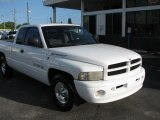 1999 Bright White Dodge Ram 1500 Sport Extended Cab #39740602