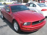 2007 Redfire Metallic Ford Mustang V6 Deluxe Coupe #39740607