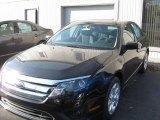 2011 Tuxedo Black Metallic Ford Fusion SE #39739589
