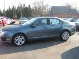2011 Steel Blue Metallic Ford Fusion SE #39739590