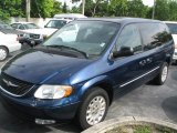 2002 Chrysler Town & Country Patriot Blue Pearlcoat