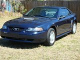 2002 True Blue Metallic Ford Mustang V6 Coupe #3971279