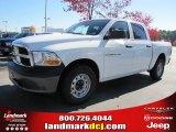 2011 Bright White Dodge Ram 1500 ST Crew Cab #39888970