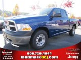 2011 Deep Water Blue Pearl Dodge Ram 1500 ST Quad Cab #39888972