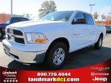 2011 Bright White Dodge Ram 1500 SLT Crew Cab #39888974