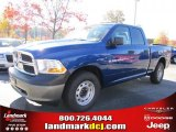 2011 Deep Water Blue Pearl Dodge Ram 1500 ST Quad Cab #39888977