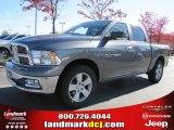2011 Mineral Gray Metallic Dodge Ram 1500 SLT Crew Cab #39888978