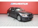 2007 Space Gray Metallic BMW 3 Series 328xi Sedan #39889148