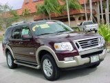 2006 Dark Cherry Metallic Ford Explorer Eddie Bauer #3966105