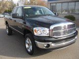 2007 Dodge Ram 1500 Big Horn Edition Quad Cab 4x4 Front 3/4 View