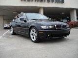 2004 Jet Black BMW 3 Series 325i Coupe #39889201