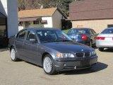 2003 Steel Blue Metallic BMW 3 Series 330xi Sedan #39889209