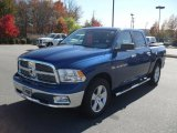 2011 Deep Water Blue Pearl Dodge Ram 1500 SLT Crew Cab #39925103