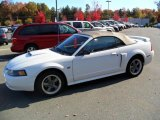 2002 Oxford White Ford Mustang GT Convertible #39925003