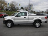 2010 Ingot Silver Metallic Ford F150 XL Regular Cab 4x4 #39924789