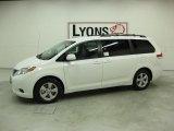 2011 Super White Toyota Sienna LE #32177505
