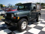 2002 Jeep Wrangler Shale Green Metallic